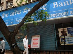 Strike cripples banking operations in India
