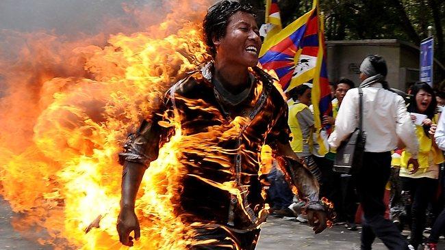 Tibetan Self Immolations on Rise