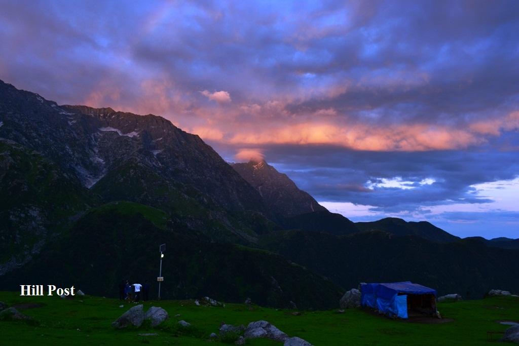 A-Lovely-Evening-at-Triund-Ridge-in-District-Kangra