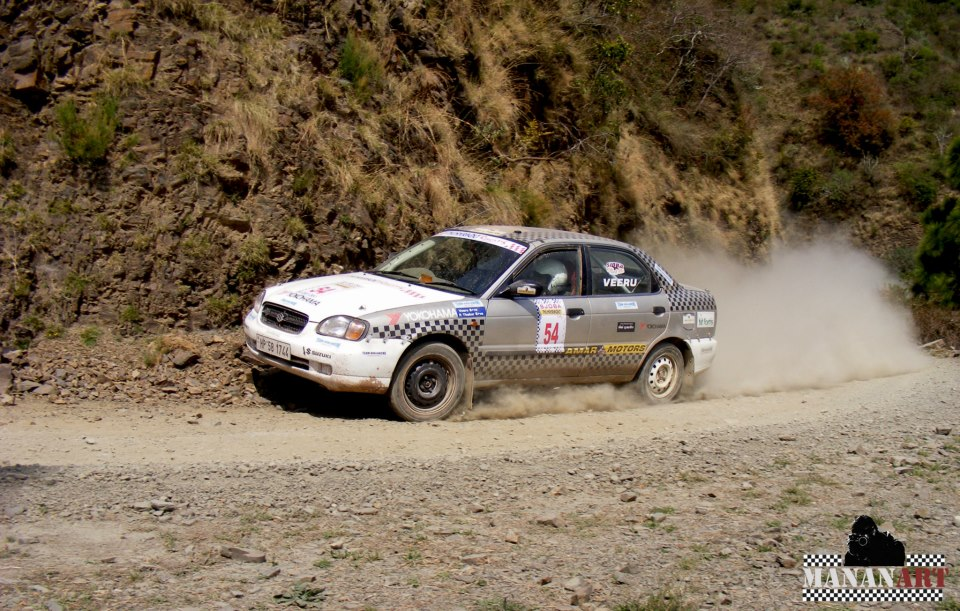 Sjoba Thunderbolt Rally 2013 - Himachal boys Zip to the Victory in Car Category