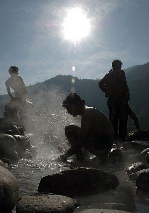 Tatapani catching fancy of tourists, pilgrims