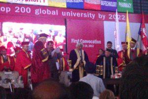 APJ Abdul Kalam at convocation in Shoolini University