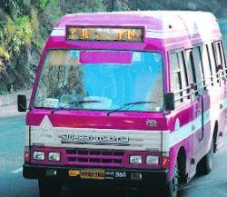 Bus timings in shimla