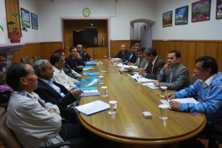 HP Uttrakhand officials meet