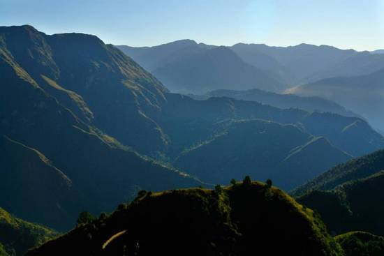 Shivalik mountain ranges