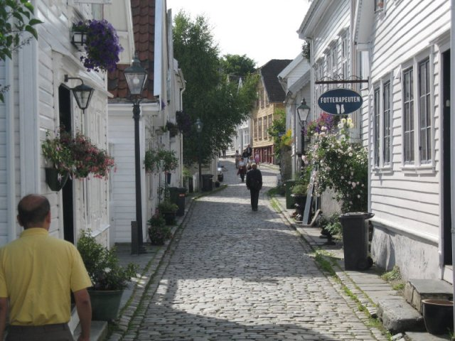 Old Stavanger, Norway has a glimpse of rural Uttarakhand, Himachal