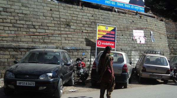 Traffic violations galore in Shimla_1