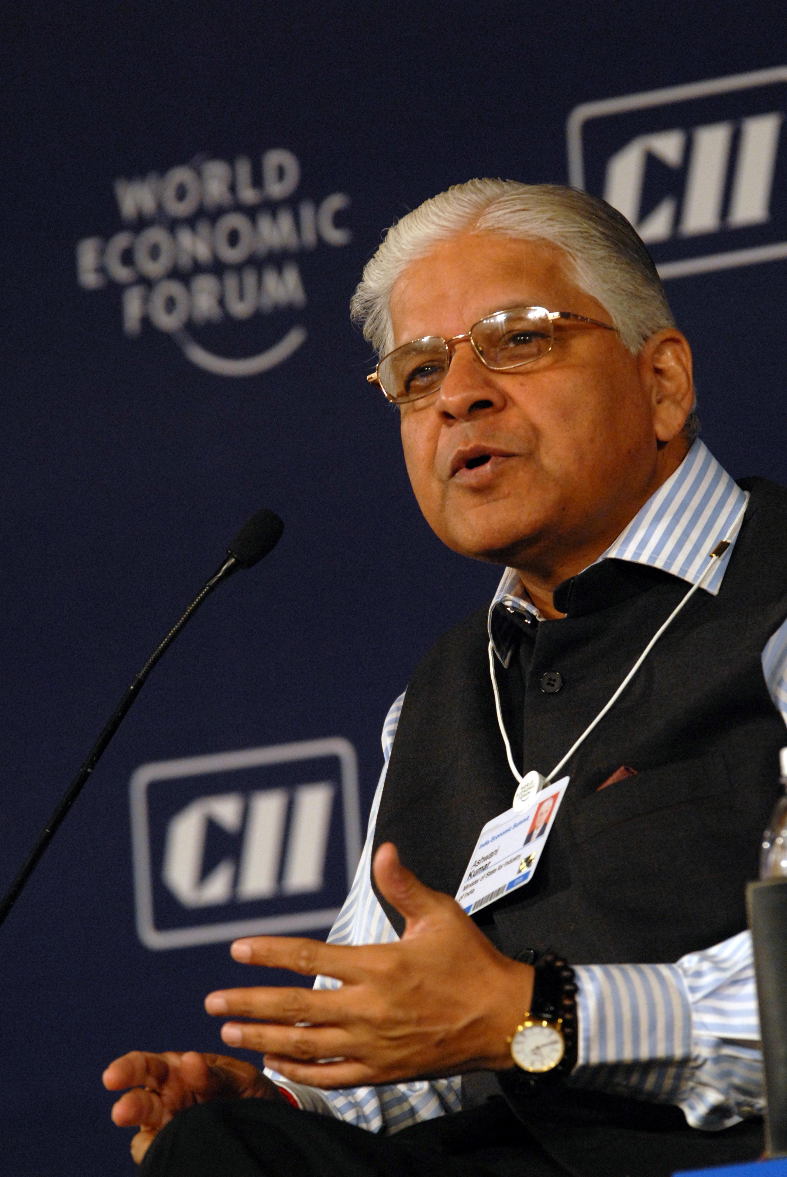 Ashwani_Kumar_at_the_India_Economic_Summit_2008