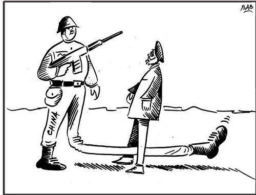 Cartoon Courtesy: Bashir Ahmad Bashir