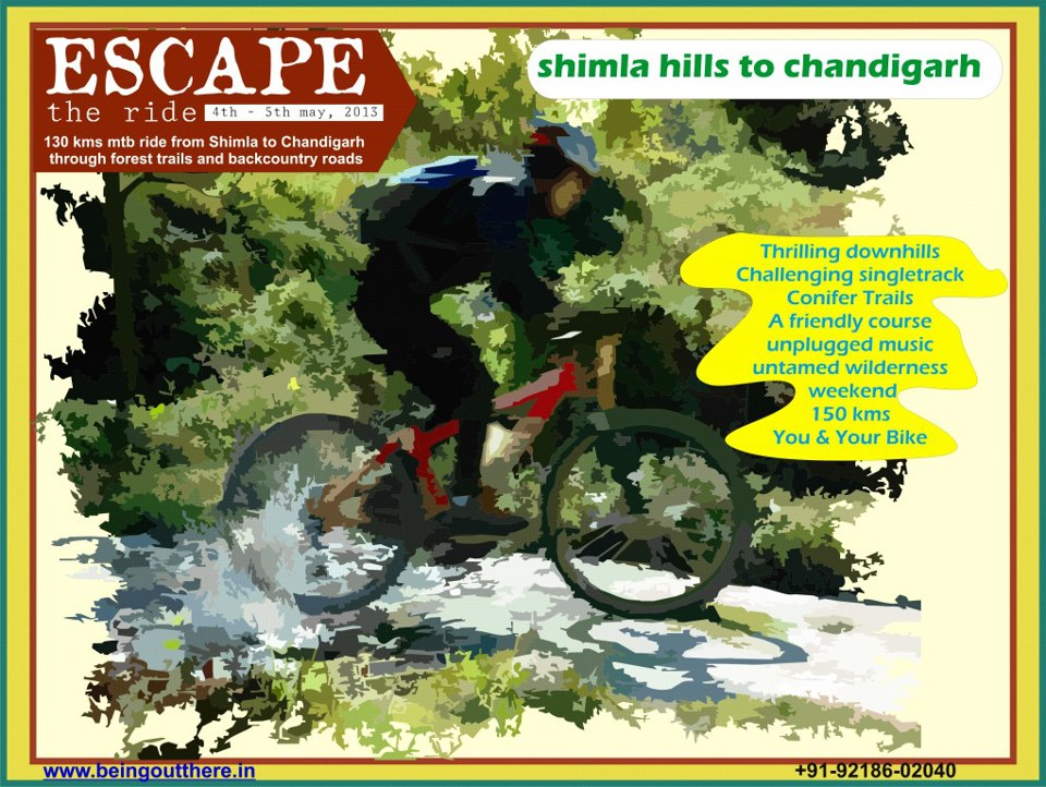 ESCAPE – MTB ride from Shimla to Chandigarh
