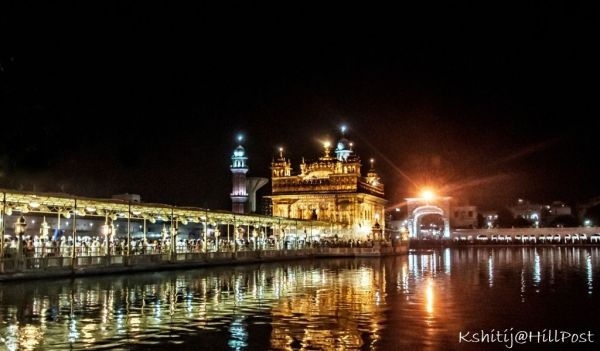 Golden Temple – A Night View