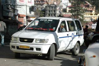 Himachal roadways taxi