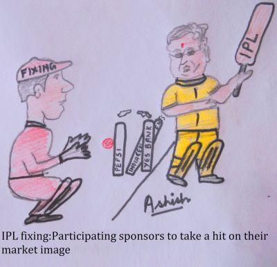 IPL Sponsors in a fix
