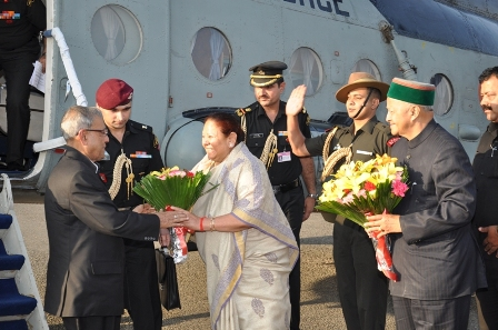 President Pranab Mukherjee in Shimla