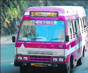 Special buses to ensure women safety in Shimla