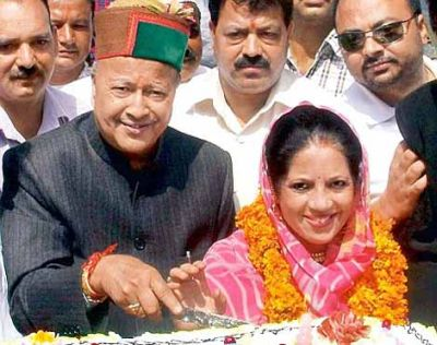 Virbhadra's wife to contest Mandi parliamentary by-poll