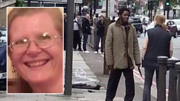 You're going to lose, woman tells London attacker_1