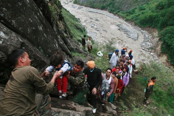 483 people rescued from flooded areas in north India - NDRF_1