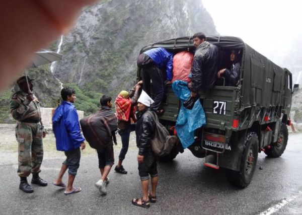 483 people rescued from flooded areas in north India - NDRF_2