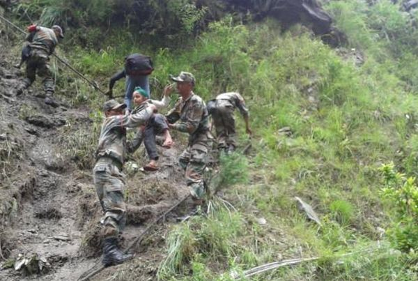 483 people rescued from flooded areas in north India - NDRF_3