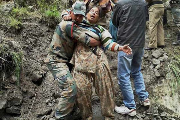 483 people rescued from flooded areas in north India - NDRF_4