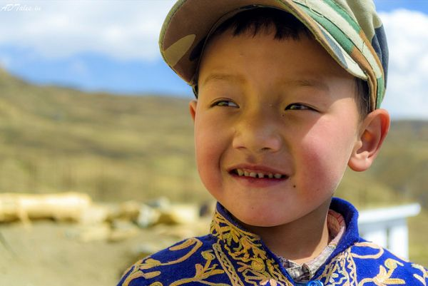 A Cute Kid from the Spiti valley says it all with his cute smile
