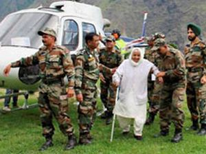 Armed forces rescue 1,000 people braving inclement weather