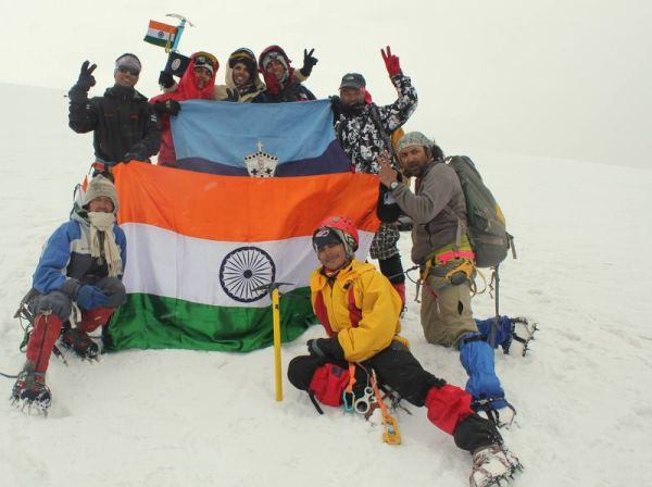 Bishop Cotton School Shimla students scale Mt Deo Tibba in Manali