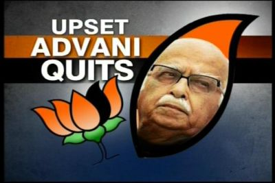 BJP in crisis over Advani resignation shocker
