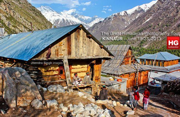 Chitkul Village, Kinnaur, Himachal Pradesh, India