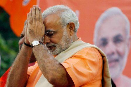 Modi to lead BJP in 2014