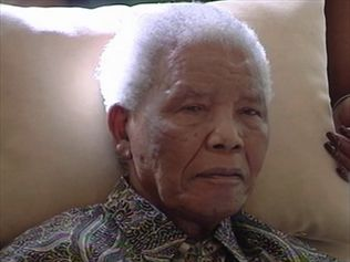 Nelson Mandela's health is cause for concern in Kashmir