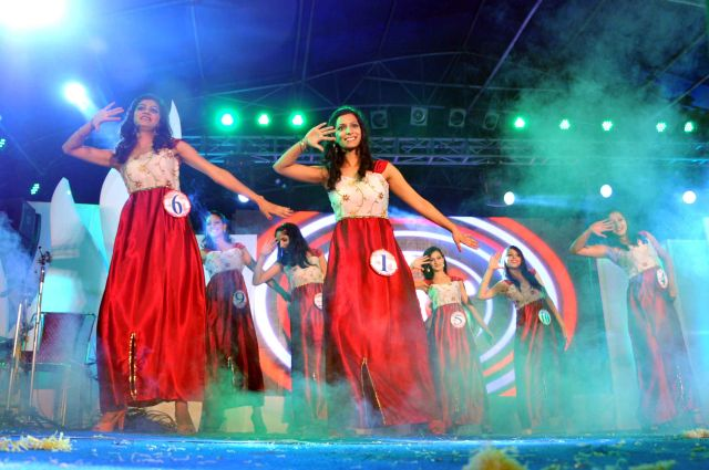Beauty pageant at  2013 Shimla Summer Festival