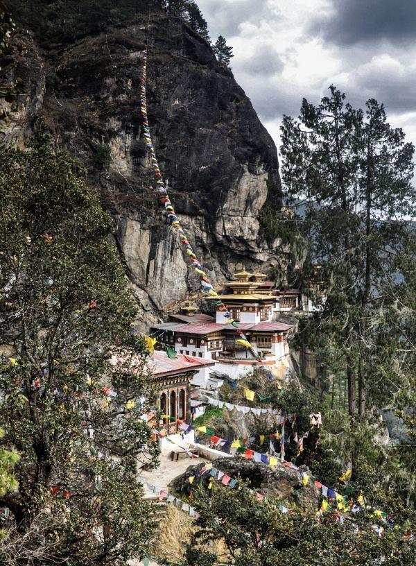 TAKTSANG MONASTORY (TIGER'S NEST) , PARO, BHUTAN.