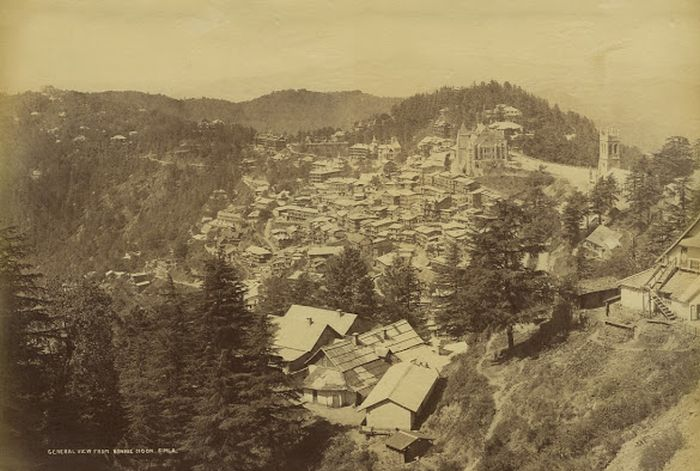 General View of simla from Bonnie Moon