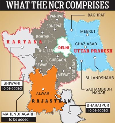 Haryana districts added to NCR, credit game begins