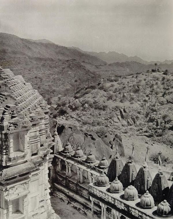 Landscape View from Achalgarh Temple, Mount Abu - Rajasthan, India 1928