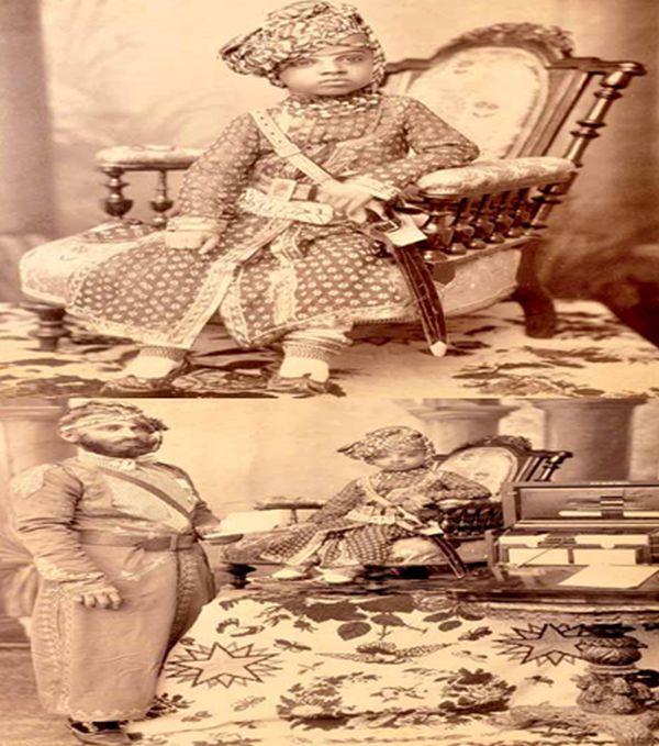 Prince Sardar Singh (1880-1911) of Jodhpur - circa 1885