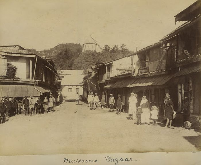 Picturesque Mussoorie from the late 19th century