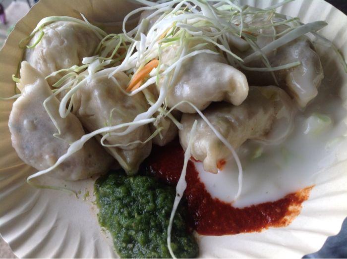 Tibetan food few steps from Sher-e-Punjab, Shimla