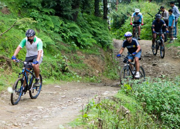 Bikers at an expedition organised by Himalayan Adventure Sports and Tourism Promotion Association (HASTPA)_2