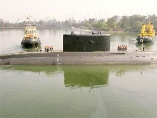 Explosion, fire rock Indian submarine
