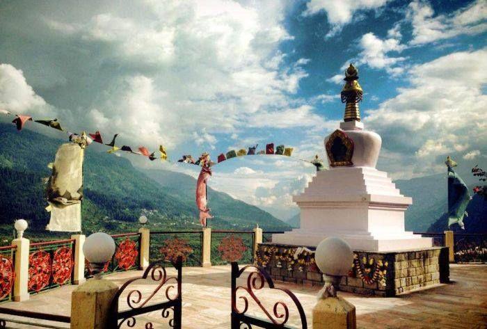 Pangan monastory in Kullu valley (Himachal) ..!!!