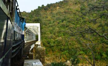 Pathankot – Jogindernagar rail track in Himachal closed for repair!
