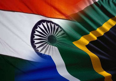 South Africa and India