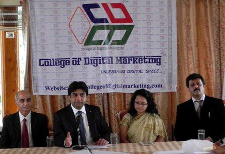 Chander Kapoor announcing launch of CDM
