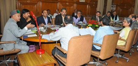 CM presiding over the high powered investment clearance authority meeting