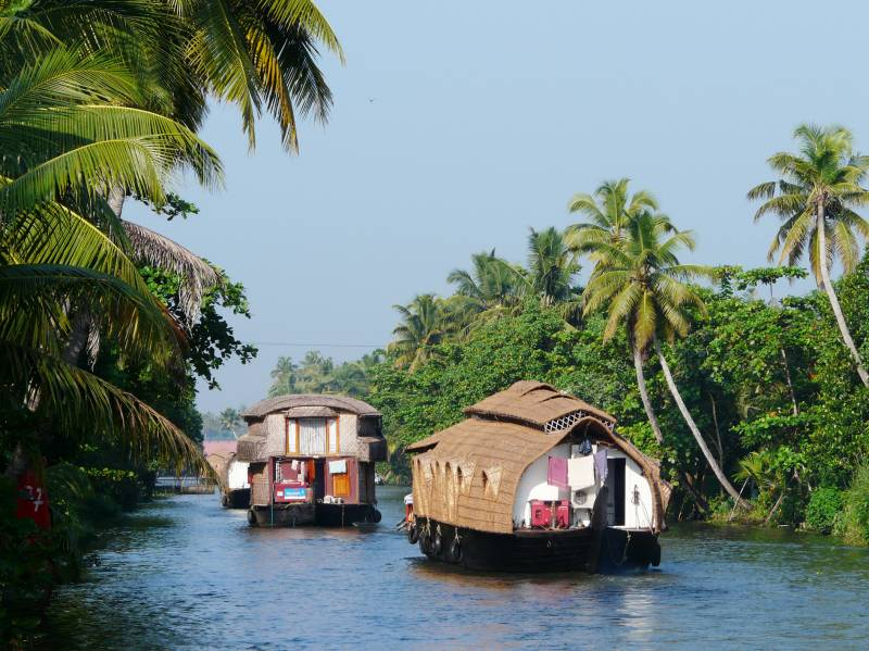 Top 7 Places to Visit in India -Kerala