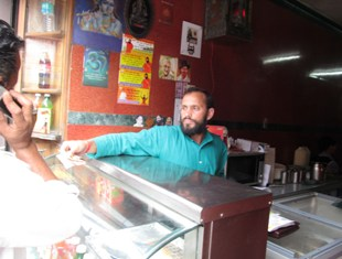 working at dhabba