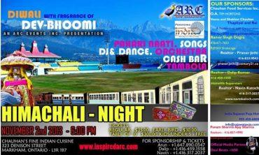 Himachali Community in Canada to celebrate Diwali at Toronto